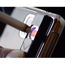 Funda Encendedor Iphone 6 Metalica Color Negro Recargable
