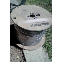 Bobina De 305 Mts Cable Coaxial Rg6 Belden Duobond