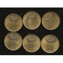 Moneda Prueba 1000 Pesos Atlan Envio Gratis Dhl
