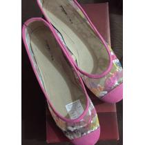 Zapatos Zapatillas Sandalias Dama Marca Ferradini Talla 39