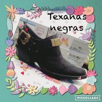Botas Botitas Botinetas Charritos Texanas Cortas Mujer Inv16