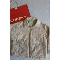 Campera Niño Cheeky Talle 2 Impermeable Media Estacion.