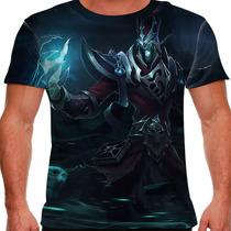 Camiseta League Of Legends Karthus Voz Mortal Masculina