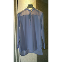 Blusón Azul Cielo Para Dama Armani Exchange Italiano