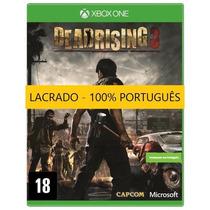 Dead Rising 3 Xbox One Mídia Física Lacrado Português Brinde