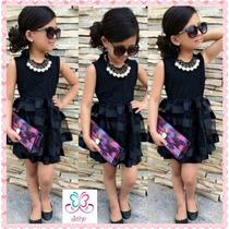 Vestido Niñas Importado Fashion Tutu Ropa Moda Estreno