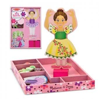 Resultado de imagen de muñecos para vestir melissa y doug