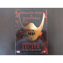 Dvd Dragón Rojo & Hannibal Lecter Edición De Colección