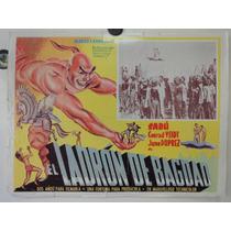 Cartel Ladron De Bagdad Conrad Veidt Sabu June Duprez 1940