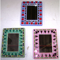 Espejo De Bolsillo En Vitromosaico Rod