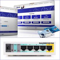 Servidor De Internet Hotspot - Wireless- Pré-pago - Mikrotik