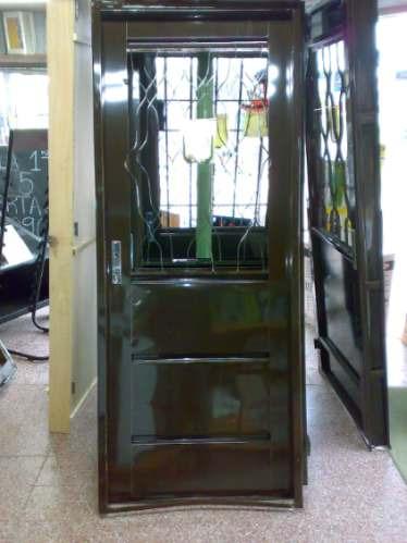 Puerta exterior doble chapa cerradura seguridad for Cuanto sale una puerta