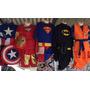 Disfraz Niño Batman , Supermán , Ironman, C América Y Goku
