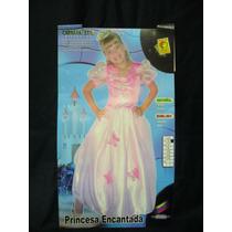 Disfraz Princesa Encantada, Nuevo,talla 2 Y 4, Carnavalito