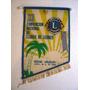 Banderin Xxi Convencion Nacional Club De Leones Rocha 1975