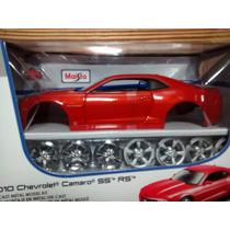 Chevrolet Camaro Ss Rs 2010 1:24 Maisto Assemblyline