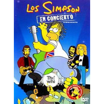 Los Simpson En Concierto Backstage Pass