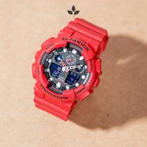 Relógio Casio G-shock Analógico E Digital Modelo Ga-100b-4a