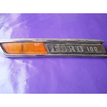 Emblema Ford 100 Camioneta Clasica 1968-1972 Ford Original