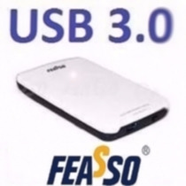 Case Externa Feasso P/hd Sata 2.5 Usb 3.0 Gaveta Hd De Note