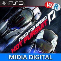 Need For Speed Hot Pursuit Psn Play 3 Ps3 Cod Psn