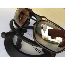 Oculos Oakley Badman Grafite Vr28 / Ruby Ice Black Iridium