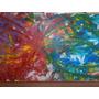 Cuadro Pintura Abstracto Bastidor Acrilico Decoracion