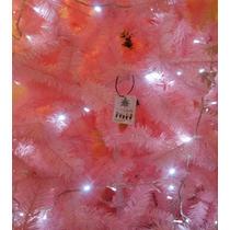 Arbol Color Rosa Navideño Elegante