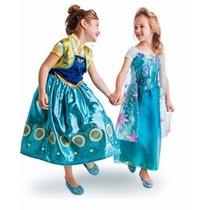 Vestido Frozen Ana Y Elsa