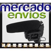 Mercado Envios Vec Microfono Especial P/camara Tipo Escopeta