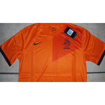 Jersey Nike Seleccion Holanda Local 12-13 100% Original