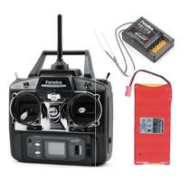 Radio Futaba T6ex + Receptor R617fs + Bateria Nt8f600b