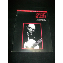 Andrés Segovia Sor 20 Estudios Para Guitarra Vbf Partitura