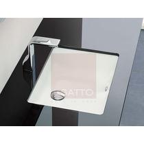 Esatto - Lavabo Ovalin De Submontar Cerámica Blanca Fino Mn4