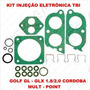 Kit Reparo Injeção Eletronica Tbi Golf 97/...1.8/2.0 Gl-glx