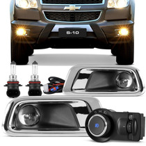 Kit Farol Milha S10 2012 2013 2014 Nova S10 Neblina Completo