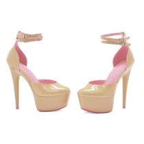 Zapatillas Ellie De Plataforma Color Piel Nude 609-curissa