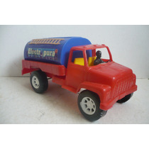 Camion Pipa Cisterna - Camioncito De Juguete Antiguo Escala
