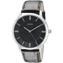 U0664g1 Noche Elegante Reloj De Plata-tone Guess Hombre De