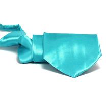 Gravata Azul Tiffani Para Recpcionistas