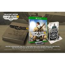 Jogo Novo Lacrado Sniper Elite 3 Collectors Edition Xbox One