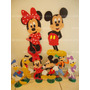 Kit Decoração Festa Enfeites Mickey Minnie
