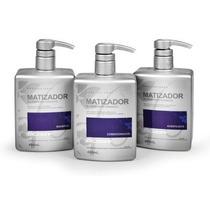 Trio Matizador Dicolore Shampoo+cond+acidificante+brinde
