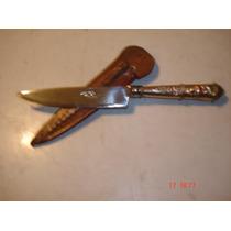 Cuchillo Facon Solingen De Plata Y Oro