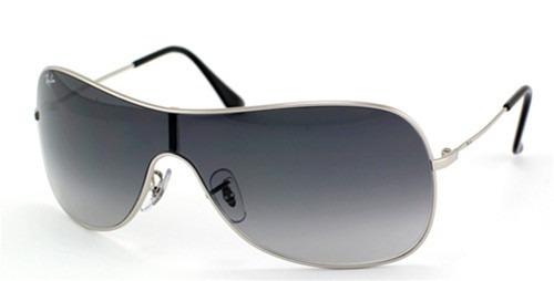 e93f9da3ee619 Óculos De Sol Ray-ban Rb3211 Mascara Prata Degrade - R  249