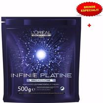 Pó Descolorante Loreal Infinie Platine Pro Keratine + Brinde