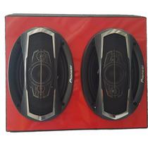 Caixa 6x9 Madeira Com Alto Falante 6x9 Pentaxial Pioneer Top