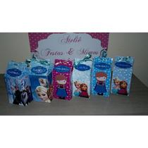 Caixa Milk Personalizada 5 X 5 X 10,5cm Festa Infantil