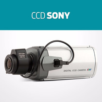 Câmera Vigilancia Ccd Sony Profissional + Lente Auto-íris