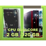 Computadora Dualcore 2gb/dd 320gb Audifono Inalambr Tec+mou